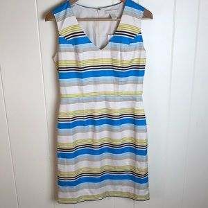 Banana Republic Striped Sheath Dress